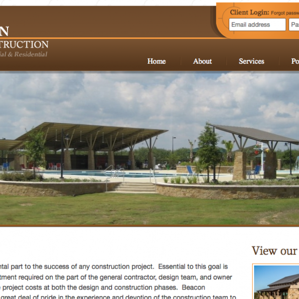 620 Studio Launches New Website for Beacon Construction Company, Inc.
