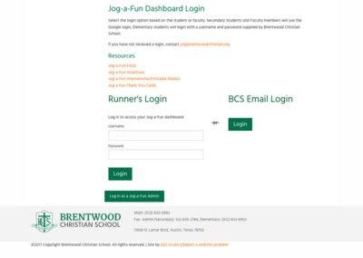 Brentwood Christian School - Jog-a-Fun