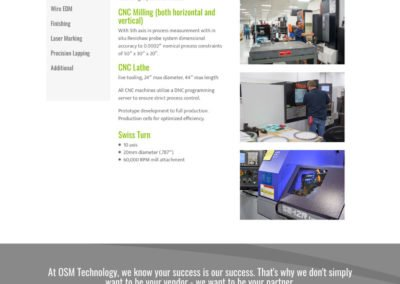 One Source Manufacturing - Machining