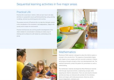 Blooming Scholars Montessori - Education