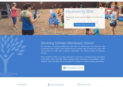 Blooming Scholars Montessori - Home