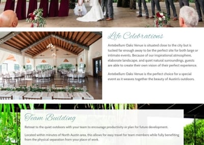 Antebellum Oaks Venue | Event