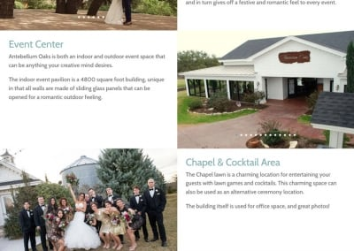 Antebellum Oaks Venue | Our Venue